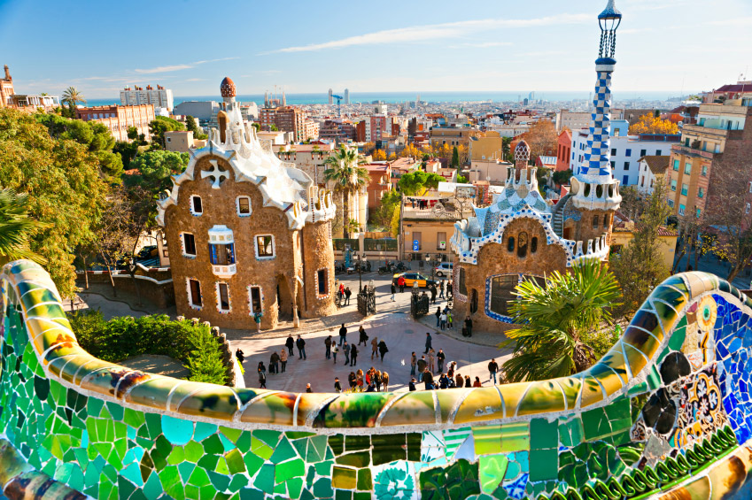 Barcelona-Parque Guell
